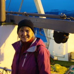 Willson on trawler in Iceland